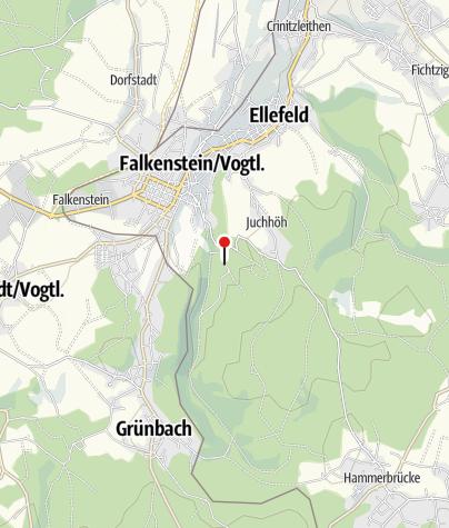 Map / Bootsverleih und Imbiß Talsperre Falkenstein