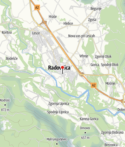Map / Radovljica Old Town guided tour