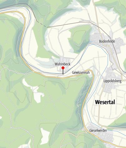Karte / Gierseilfähre Wahmbeck