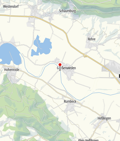 Karte / Weserfähre Großenwieden