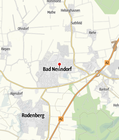 Karte / W-LAN Hotspots in Bad Nenndorf