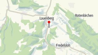 Karte / Lauenberger Badesee