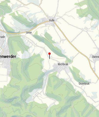 Karte / Rittergut Westerbrak