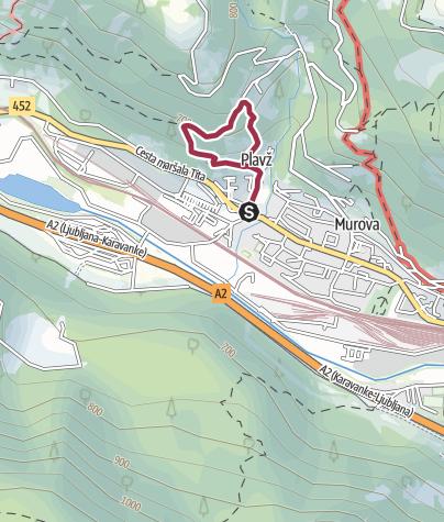 Map / Trim steza Žerjavec