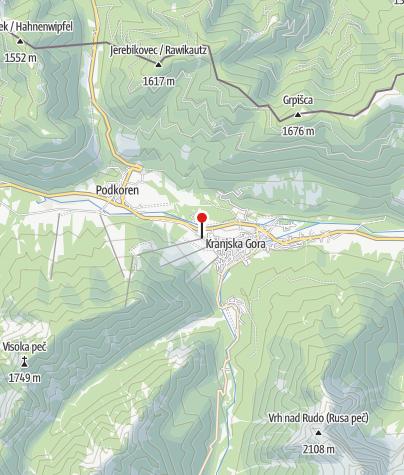 Map / Bike Park Kranjska Gora