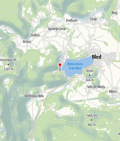 Map / Camping Bled