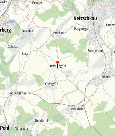 Karte / Ferienhaus / Ferienwohnung Petzold