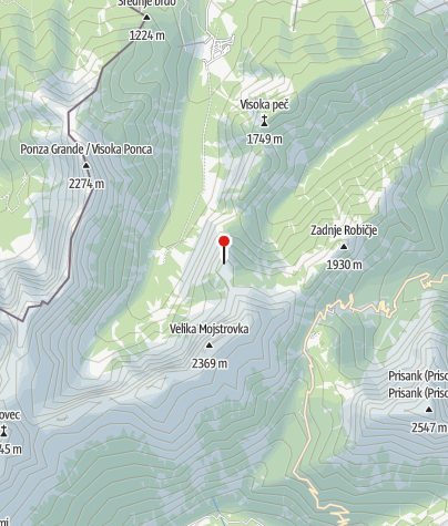Map / Slemenova Špica