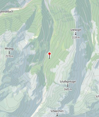 Kaart / Fotscher Skihütte
