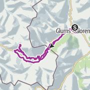 Map / Alp Champatsch-Tour / Münstertal
