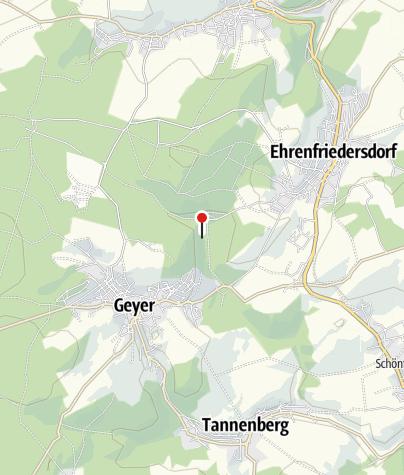Karte / Skisprungschanzen Geyer