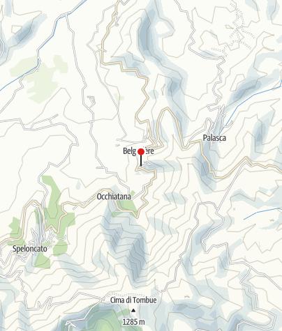 Karte / Schloss Malaspina