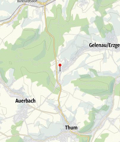 Mapa / Ortspyramide Gelenau - Mitte