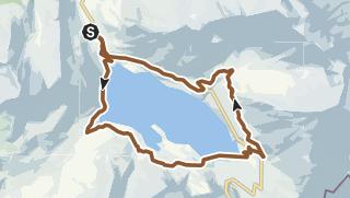 Carte / Lac du Mont Cenis