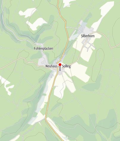 Karte / Weser-Radweg: Der Nordsee entgegen