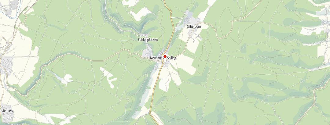 Karte / Weser-Radweg: Historische Geschichte(n) erleben
