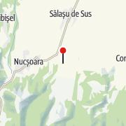 Map / Cetatea Mălăiești