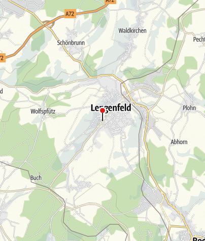 Karte / Tourist-Information Lengenfeld