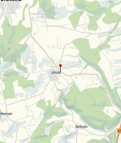 Karte / Bioenergiedorf Jühnde