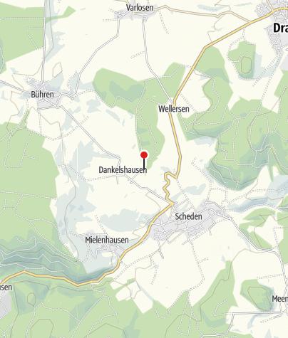 Karte / Grillplatz am Hainholz in Dankelshausen