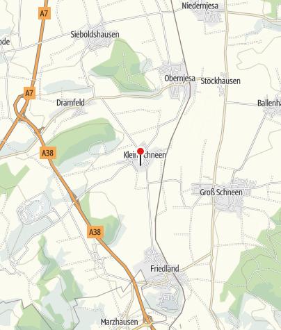 Karte / St. Nikolaus-Kirchengemeinde, Klein Schneen