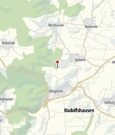 Karte / Waldlehrpfad bei Krebeck