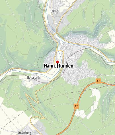"""Karte / Wohnmobilstellplatz """"Am Hochbad"""" (Freibad)"""