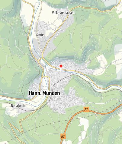 """Karte / Wohnmobilstellplatz """"Am Werraweg"""""""