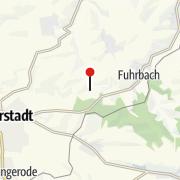 Karte / Grünes Band Eichsfeld-Werratal / Heinz Sielmann Stiftung