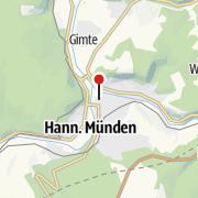 Karte / St. Blasiuskirche in Hann. Münden