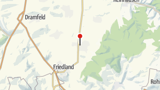 Karte / Pension am Birkenfeld