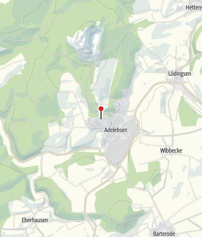 Karte / Ferienwohnung Buhre