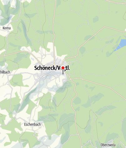 Karte / Ein Probenwochenende für Orchester, Chöre & Bands