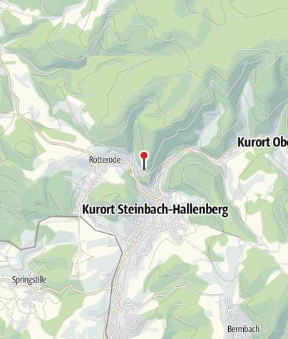 Map / Gasthof Am Köpfchen - Steinbach-Hallenberg