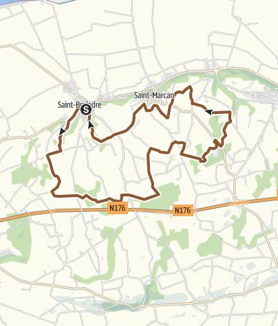 Carte / Circuit du terrain