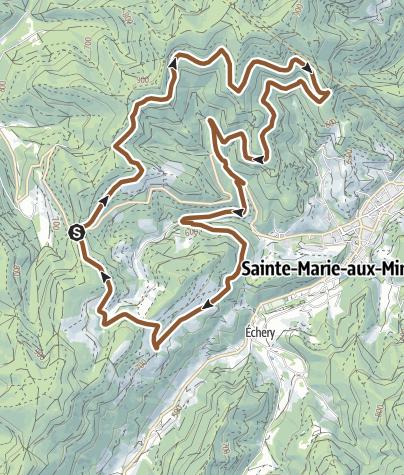 Carte / Circuit VTT n°3 - Le Circuit du Robinot