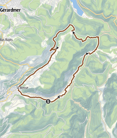 Carte / La Bresse – Circuit n°12 Le Tour du Grand Jean