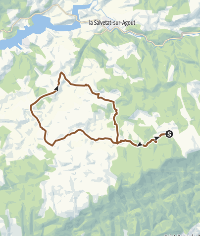 Carte / Circuit VTT n°6 – Les rives de l'Arn
