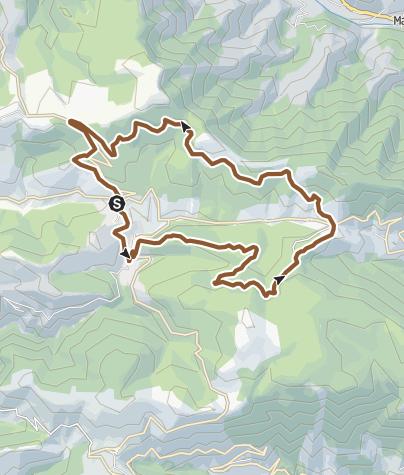 Carte / Circuit VTT n°45: Les Pergeyres