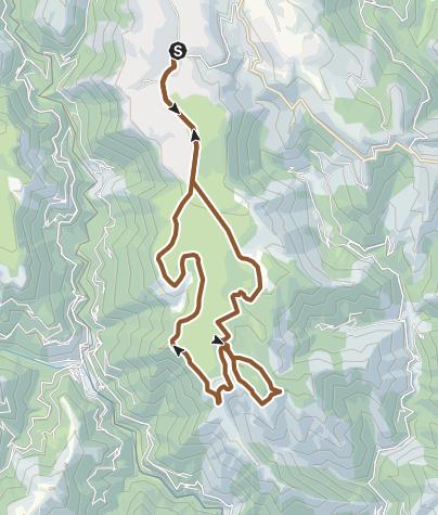 Carte / Circuit VTT n°46: La Cham