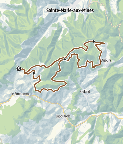 Carte / Bagenelles - Renardière
