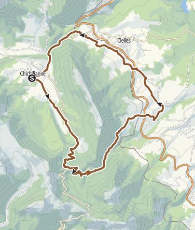 Carte / Circuit VTT n°19 : Le tour de Platary -  Chichilianne