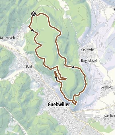Carte / 08 - Circuit VTT du Saint-Gangolphe