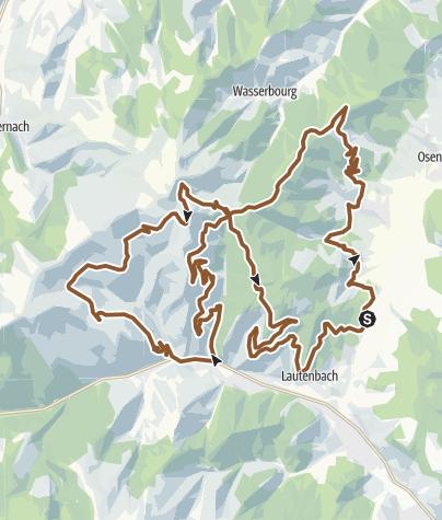 Carte / 10 - Circuit VTT du Strohberg