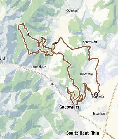 Carte / 20 - Circuit VTT du Boenlesgrab