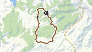 Carte / Circuit n°92 - Les 13 cantons