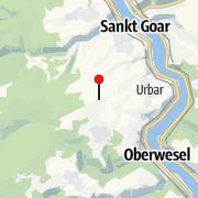 Map / Aussichtsturm auf dem Spitzen Stein