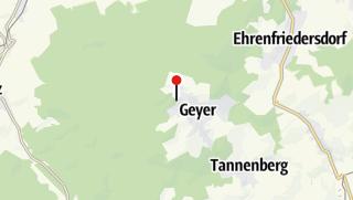 Karte / Pension im Berggasthaus Kapellenstein am Knochen