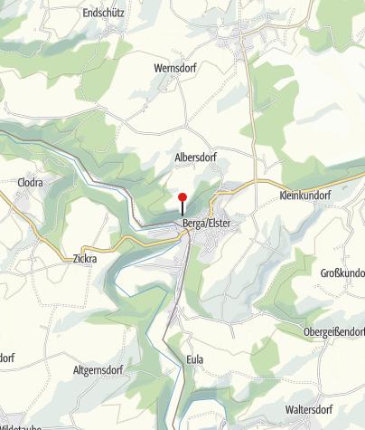 Karte / Weißer Engel Berga/Elster