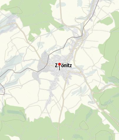 Karte / Zur Börse Zwönitz